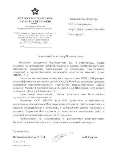 А.Н.Сиухов<br>ВБРР