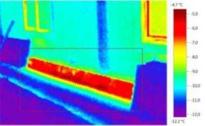 обследование тепловизором дома